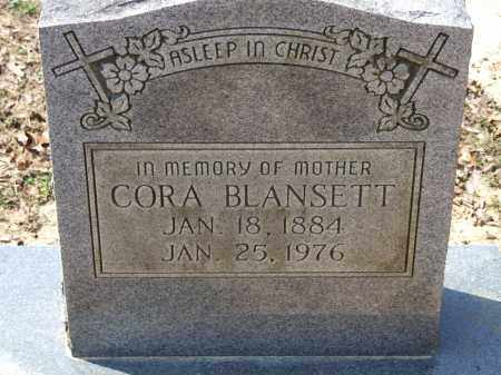 BLANSETT, CORA - Greene County, Arkansas | CORA BLANSETT - Arkansas Gravestone Photos
