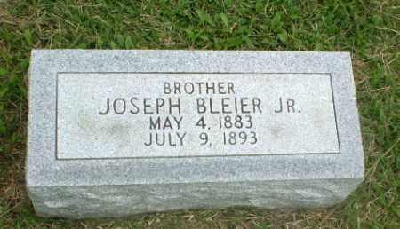 BLEIER, JR, JOSEPH - Greene County, Arkansas | JOSEPH BLEIER, JR - Arkansas Gravestone Photos