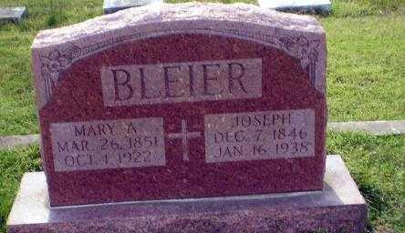 BLEIER, JOSEPH - Greene County, Arkansas | JOSEPH BLEIER - Arkansas Gravestone Photos