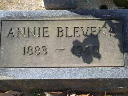 BLEVENS, ANNIE - Greene County, Arkansas | ANNIE BLEVENS - Arkansas Gravestone Photos