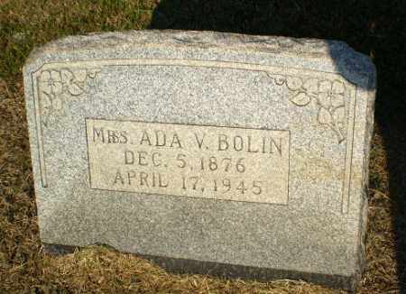 BOLIN, ADA V - Greene County, Arkansas | ADA V BOLIN - Arkansas Gravestone Photos
