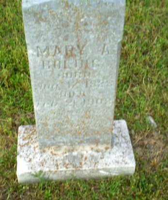 BOLING, MARY A - Greene County, Arkansas   MARY A BOLING - Arkansas Gravestone Photos