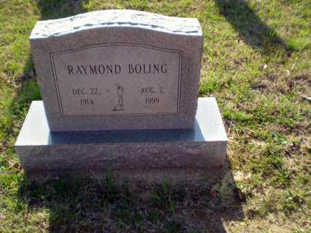 BOLING, RAYMOND - Greene County, Arkansas | RAYMOND BOLING - Arkansas Gravestone Photos
