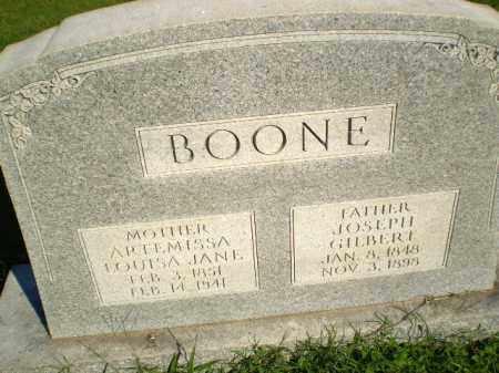 BOONE, JOSEPH GILBERT - Greene County, Arkansas   JOSEPH GILBERT BOONE - Arkansas Gravestone Photos