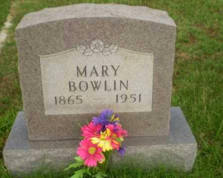 BOWLIN, MARY - Greene County, Arkansas | MARY BOWLIN - Arkansas Gravestone Photos