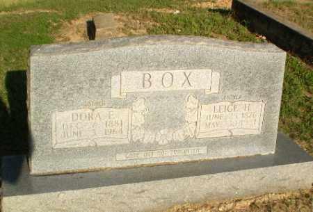 BOX, DORA E - Greene County, Arkansas | DORA E BOX - Arkansas Gravestone Photos