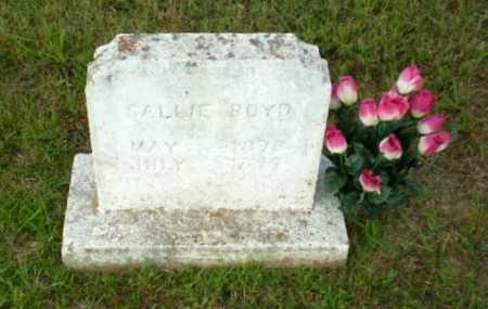 BOYD, CALLIE - Greene County, Arkansas | CALLIE BOYD - Arkansas Gravestone Photos
