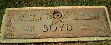 BOYD, WILLIAM E - Greene County, Arkansas | WILLIAM E BOYD - Arkansas Gravestone Photos