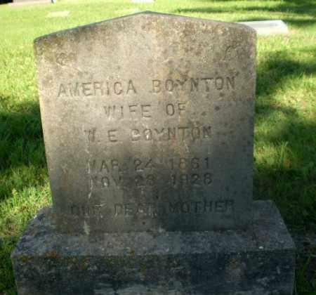 BOYNTON, AMERICA - Greene County, Arkansas | AMERICA BOYNTON - Arkansas Gravestone Photos
