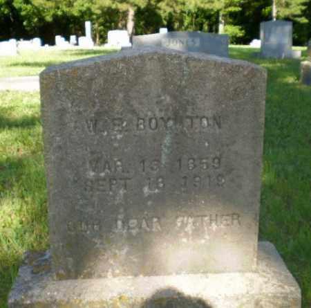 BOYNTON, W.E. - Greene County, Arkansas | W.E. BOYNTON - Arkansas Gravestone Photos