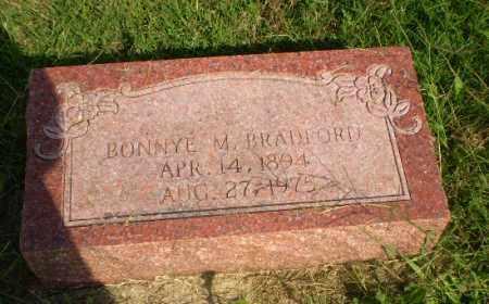 BRADFORD, BONNYE M - Greene County, Arkansas | BONNYE M BRADFORD - Arkansas Gravestone Photos