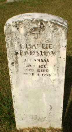 BRADSHAW (VETERAN), CHARLIE - Greene County, Arkansas   CHARLIE BRADSHAW (VETERAN) - Arkansas Gravestone Photos