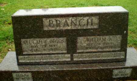 BRANCH, WILLIAM A - Greene County, Arkansas   WILLIAM A BRANCH - Arkansas Gravestone Photos