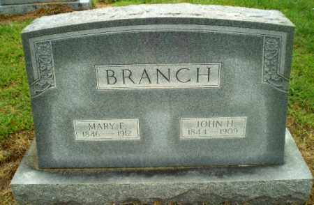 BRANCH, JOHN H. - Greene County, Arkansas | JOHN H. BRANCH - Arkansas Gravestone Photos