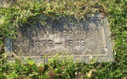 BRANOM, OSCAR W - Greene County, Arkansas | OSCAR W BRANOM - Arkansas Gravestone Photos