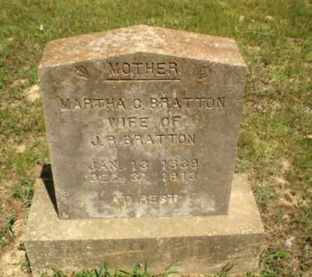 BRATTON, MARTHA C - Greene County, Arkansas | MARTHA C BRATTON - Arkansas Gravestone Photos