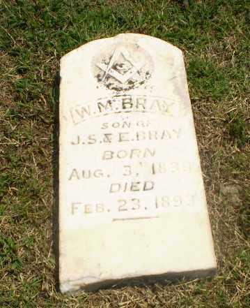 BRAY, W.M. - Greene County, Arkansas   W.M. BRAY - Arkansas Gravestone Photos