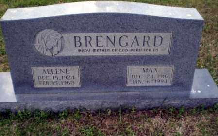 BRENGARD, MAX - Greene County, Arkansas   MAX BRENGARD - Arkansas Gravestone Photos