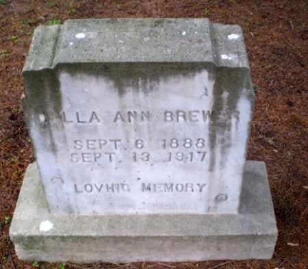 BREWER, DELLA ANN - Greene County, Arkansas | DELLA ANN BREWER - Arkansas Gravestone Photos