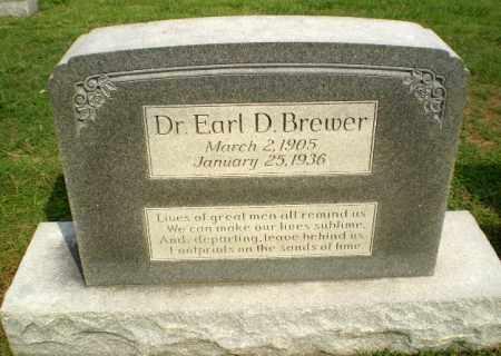 BREWER, DR, EARL D - Greene County, Arkansas   EARL D BREWER, DR - Arkansas Gravestone Photos