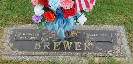BREWER, J. KENNETH - Greene County, Arkansas | J. KENNETH BREWER - Arkansas Gravestone Photos