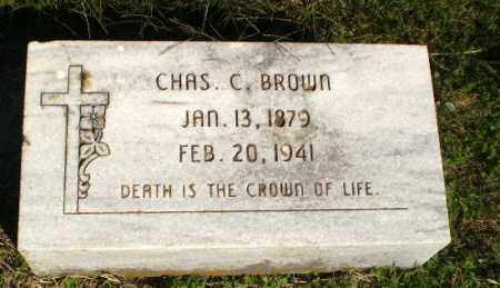 BROWN, CHAS C - Greene County, Arkansas | CHAS C BROWN - Arkansas Gravestone Photos