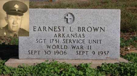 BROWN (VETERAN WWII), EARNEST L - Greene County, Arkansas   EARNEST L BROWN (VETERAN WWII) - Arkansas Gravestone Photos