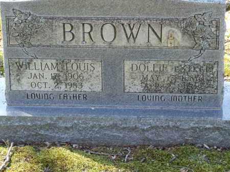 BROWN, DOLLIE ESTELLE - Greene County, Arkansas | DOLLIE ESTELLE BROWN - Arkansas Gravestone Photos