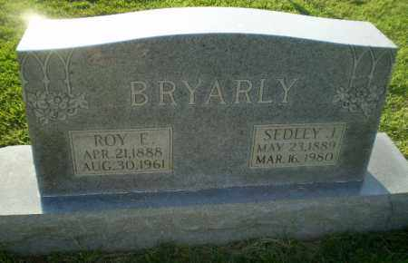 BRYARLY, SEDLEY J - Greene County, Arkansas | SEDLEY J BRYARLY - Arkansas Gravestone Photos