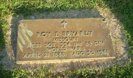 BRYARLY (VETERAN WWI), ROY E - Greene County, Arkansas   ROY E BRYARLY (VETERAN WWI) - Arkansas Gravestone Photos