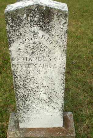 BURNS  (VETERAN CSA), GEORGE - Greene County, Arkansas | GEORGE BURNS  (VETERAN CSA) - Arkansas Gravestone Photos