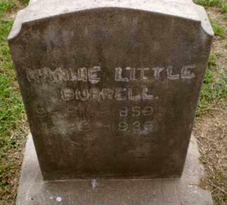 LITTLE BURRELL, MINNIE - Greene County, Arkansas | MINNIE LITTLE BURRELL - Arkansas Gravestone Photos