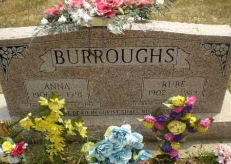 BURROUGHS, RUBE - Greene County, Arkansas   RUBE BURROUGHS - Arkansas Gravestone Photos
