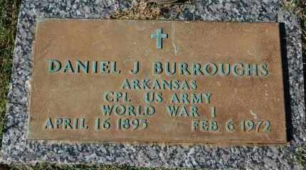 BURROUGHS (VETERAN WWI), DANIEL J - Greene County, Arkansas | DANIEL J BURROUGHS (VETERAN WWI) - Arkansas Gravestone Photos