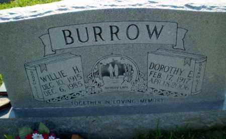 BURROW, WILLIE H - Greene County, Arkansas   WILLIE H BURROW - Arkansas Gravestone Photos