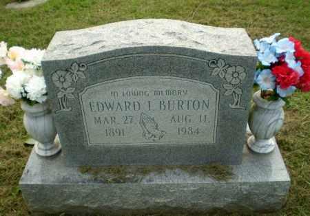 BURTON, EDWARD I - Greene County, Arkansas   EDWARD I BURTON - Arkansas Gravestone Photos