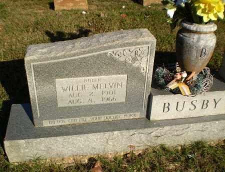 BUSBY, WILLIE MELVIN - Greene County, Arkansas | WILLIE MELVIN BUSBY - Arkansas Gravestone Photos