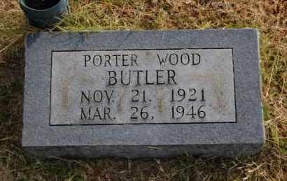 BUTLER, PORTER WOOD - Greene County, Arkansas | PORTER WOOD BUTLER - Arkansas Gravestone Photos