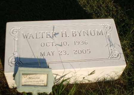 BYNUM, WALTER H - Greene County, Arkansas | WALTER H BYNUM - Arkansas Gravestone Photos