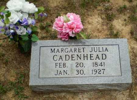 CADENHEAD, MARGARET JULIA - Greene County, Arkansas   MARGARET JULIA CADENHEAD - Arkansas Gravestone Photos