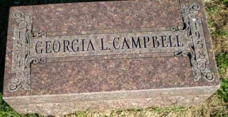 CAMPBELL, GEORGIA L - Greene County, Arkansas | GEORGIA L CAMPBELL - Arkansas Gravestone Photos