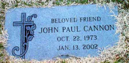 CANNON, JOHN PAUL - Greene County, Arkansas | JOHN PAUL CANNON - Arkansas Gravestone Photos