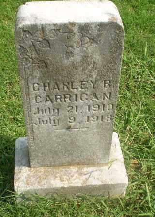 CARRIGAN, CHARLEY R - Greene County, Arkansas   CHARLEY R CARRIGAN - Arkansas Gravestone Photos