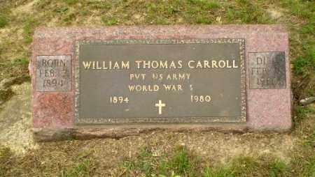 CARROLL  (VETERAN WWI), WILLIAM THOMAS - Greene County, Arkansas   WILLIAM THOMAS CARROLL  (VETERAN WWI) - Arkansas Gravestone Photos