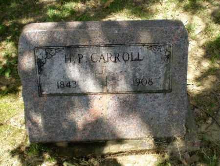 CARROLL, H.P. - Greene County, Arkansas   H.P. CARROLL - Arkansas Gravestone Photos