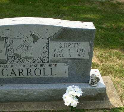 CARROLL, SHIRLEY - Greene County, Arkansas | SHIRLEY CARROLL - Arkansas Gravestone Photos