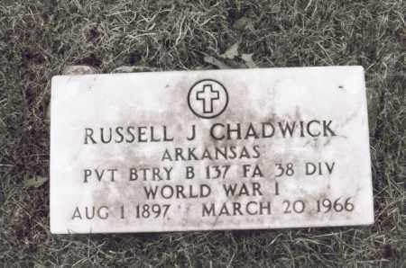 CHADWICK, RUSSELL J. [JEFFERSON] - Greene County, Arkansas   RUSSELL J. [JEFFERSON] CHADWICK - Arkansas Gravestone Photos
