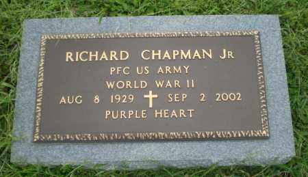 CHAPMAN, JR (VETERAN WWII), RICHARD - Greene County, Arkansas | RICHARD CHAPMAN, JR (VETERAN WWII) - Arkansas Gravestone Photos
