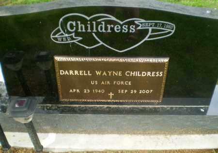 CHILDRESS (VETERAN), DARRELL WAYNE - Greene County, Arkansas | DARRELL WAYNE CHILDRESS (VETERAN) - Arkansas Gravestone Photos