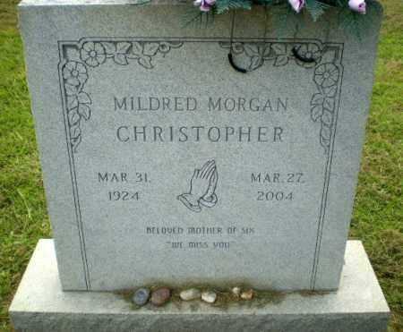 MORGAN CHRISTOPHER, MILDRED - Greene County, Arkansas   MILDRED MORGAN CHRISTOPHER - Arkansas Gravestone Photos
